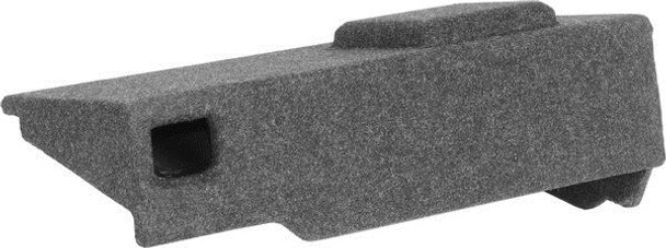 """Atrend A131-10CPV-Single 10"""" Vented Carpeted Finish Enclosure for GM Extended Cabs Silverado, Sierra Extended Cabs. Cab 2007-2013"""