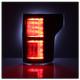 Ford F150 2015-2017 Light Bar LED Tail Lights - Black 5083487