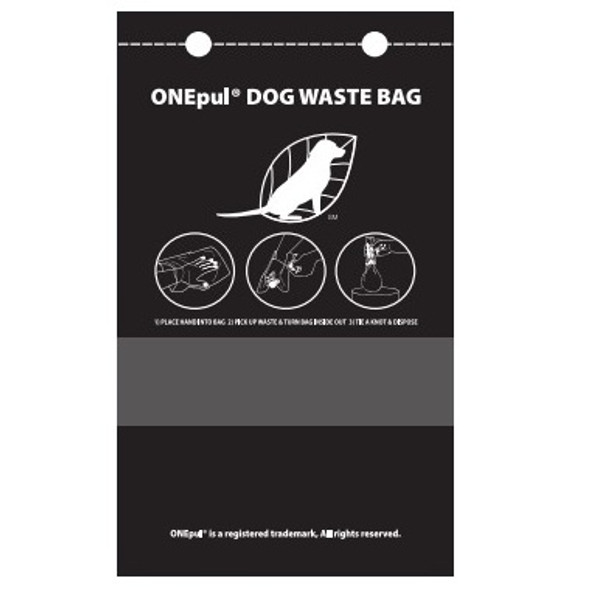 NOBrand ONEPul Dog Waste Bags, 3200 per case