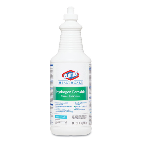 Clorox Healthcare Hydrogen Peroxide Cleaner with Pull-Top, 32 oz.