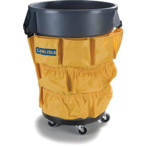 Carlisle Bronco Round Waste Container Trash Can Tool Caddy Bag 32 and 44 Gallo