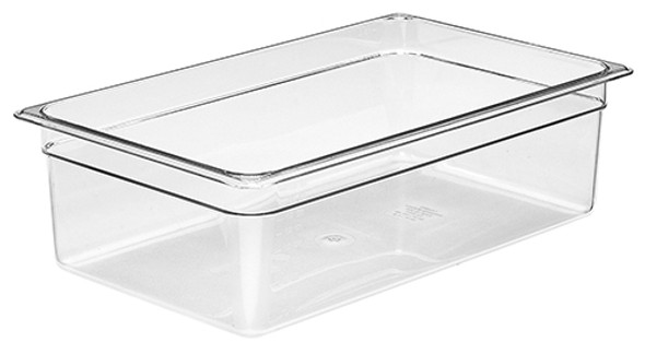 Cambro 16CW135 Full Size Clear Food Pan - 6""