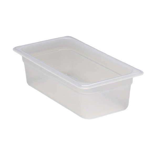 Cambro 34PP190 1/3 Size Translucent Food Pan - 4""