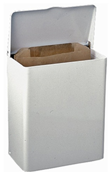 6140 Sanitary Napkin Receptacle with Rigid Liner