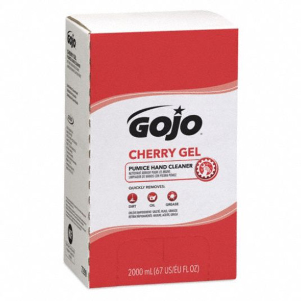 GOJO Cherry Gel Pumice Hand Cleaner