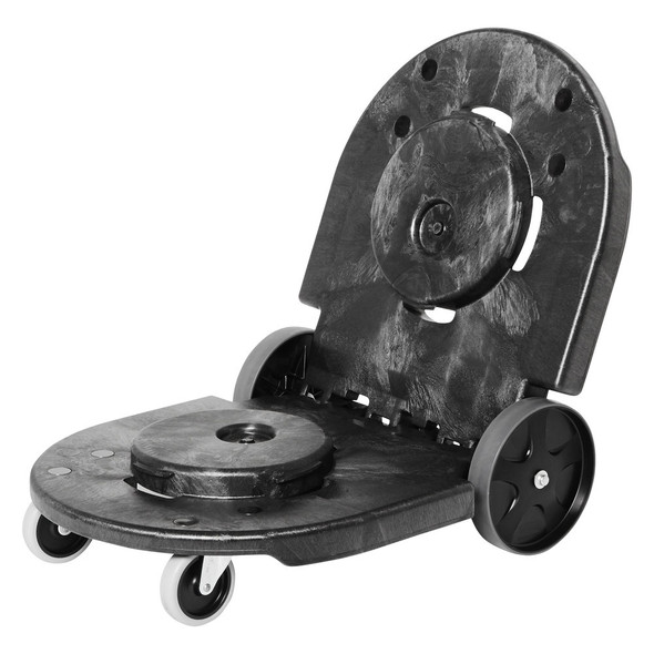 Rubbermaid BRUTE Tandem Dolly, Black