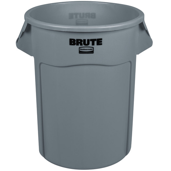 Rubbermaid Vented BRUTE 55 Gallon Container, Gray