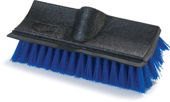 "Carlisle Flo-Pac Dual Surface 10"" Polypropylene Floor Scrub With Rubber Squeeg"