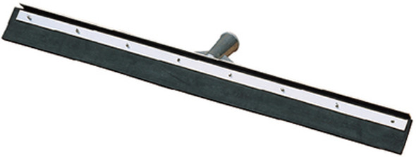 """361202400 - Flo-Pac 24"""" Straight Blade Black Rubber Squeegee 24"""" - Black"""
