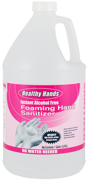 Healthy Hands Alcohol Free Foaming Hand Sanitizer