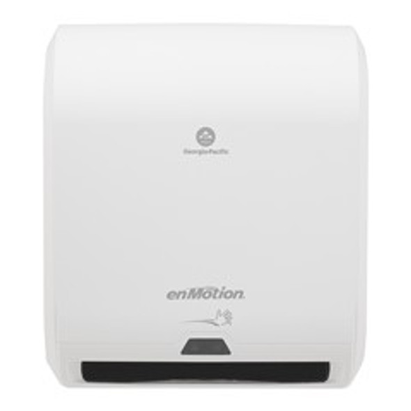 """GP PRO enMotion Automated 10"""" Touchless Paper Towel Dispenser, White"""