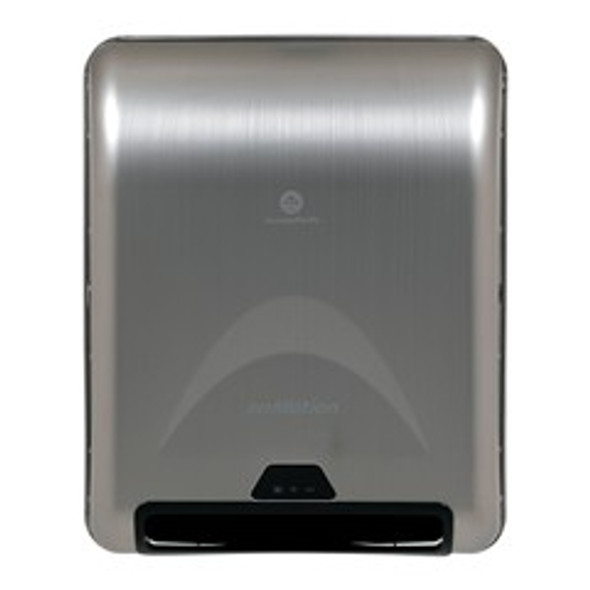 "GP PRO enMotion 8"" Recessed Automated Touchless Towel Dispenser, Stainless Ste"