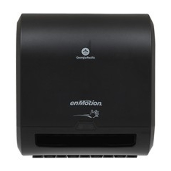 "GP PRO enMotion Impulse 8"" Automated Touchless Paper Towel Dispenser, Black"
