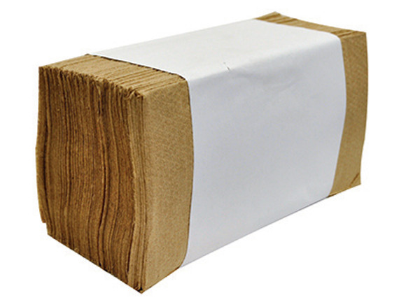 04006 Allied West Single Fold Towel - Natural