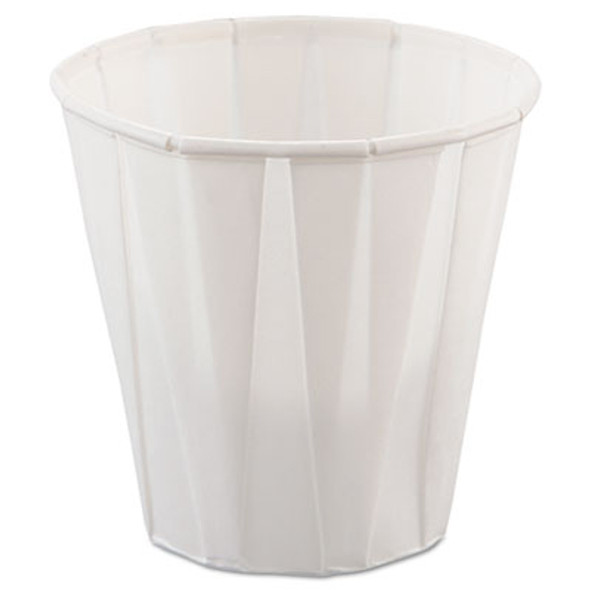 3.5oz Pleated Paper Cups 2500 Count