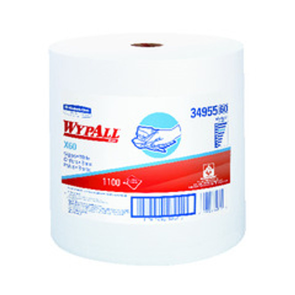 34955 WypAll X60 White Wipers Jumbo Roll