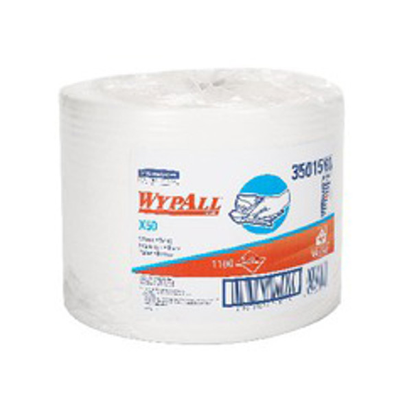 35015 WypAll X50 White Wipers Jumbo Roll
