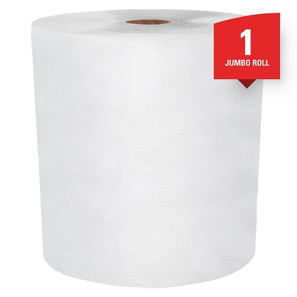 KCC Pro WypAll X80 Cloths Jumbo Roll, White