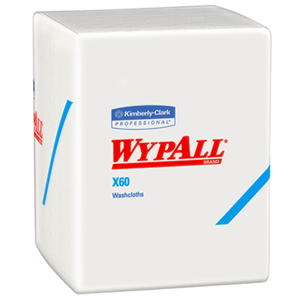 41083 WypAll X60 White Washcloths