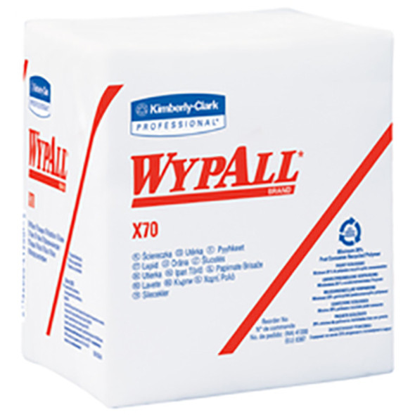 41200 WypAll X70 White Wipers