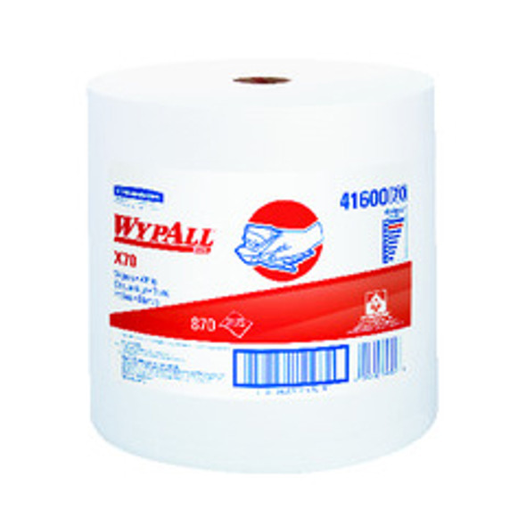 41600 WypAll X70 White Wipers Jumbo Roll
