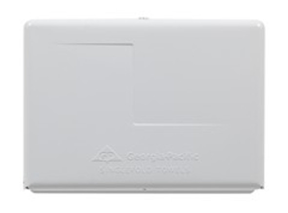 GP Georgia-Pacific� White Singlefold Towel Dispenser