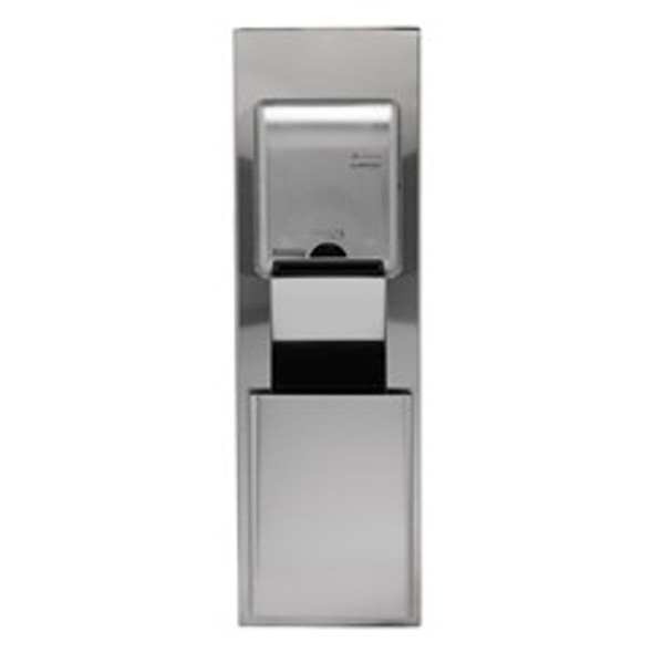 59453 GP California Building Code Compliant Recessed Trash Receptacle for 12 Inch Cavities- Stainless Steel
