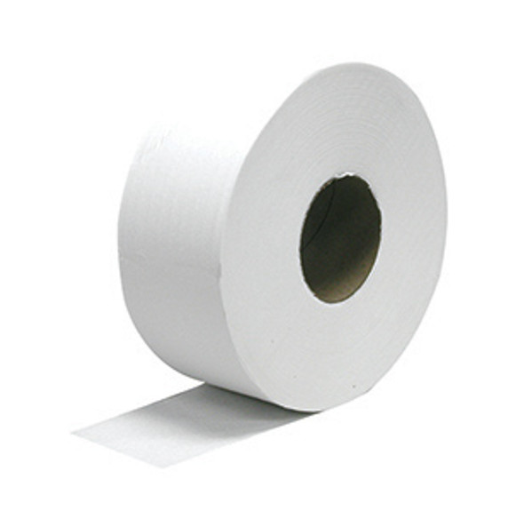 "Optima 510 12"" Jumbo Sr. Roll 1 Ply Bathroom Tissue, 6/4000"