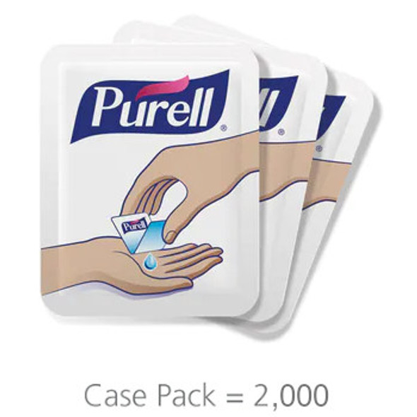 PURELL SINGLES Advanced Hand Sanitizer Single-Use Packets