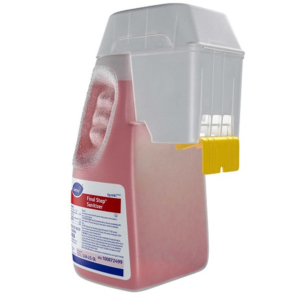 Recommended for use as a sanitizer in public eating places, and on dairy processing equipment and food processing equipment and utensils.