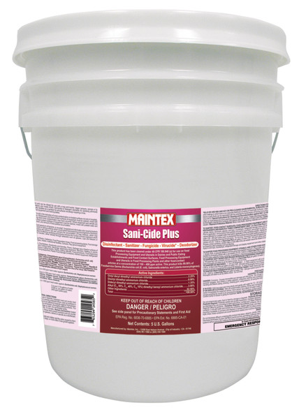 Maintex Sani-Cide Plus Sanitizer (Pail)