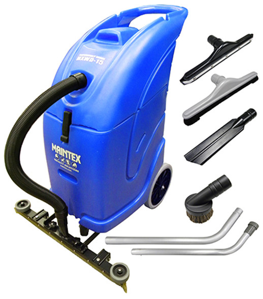 """Professionals' Choice Wet/Dry Vacuum with 27"""" Squeegee and Tool Kit"""