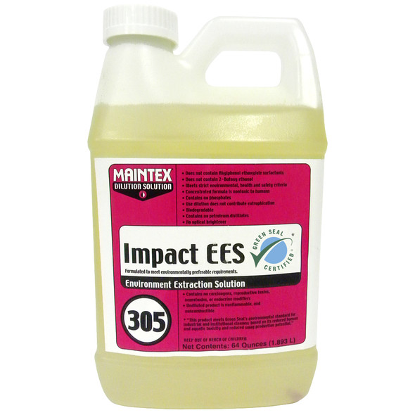 Maintex #305 Impact EES Carpet Cleaner (Dilution Solution), 64 oz.