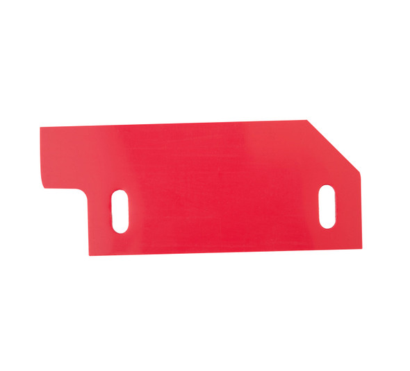 Tennant Red Rubber Squeegee Side Skirt