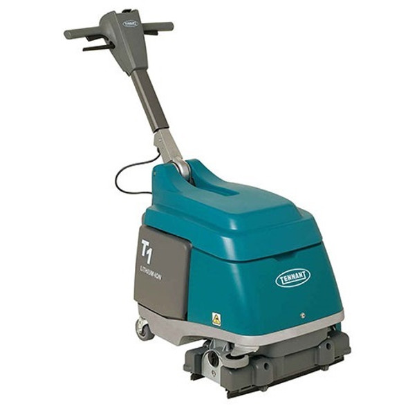"Tennant T1B 15"" Battery Walk Behind Micro Scrubber"