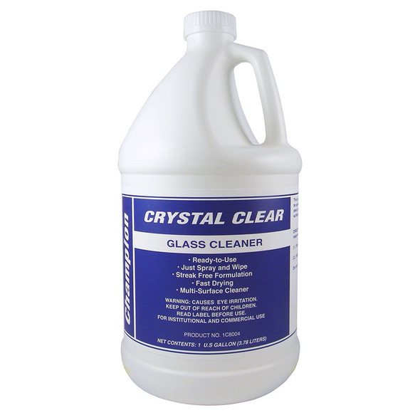 Champion Crystal Clear Glass Cleaner (Gallon)