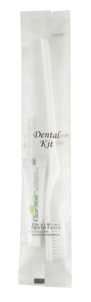 Dental Kit Toothbrush And .15oz Tube Of Toothpaste