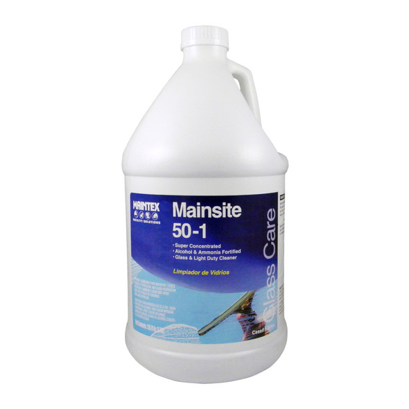Maintex Mainsite 50:1 Concentrated Glass Cleaner (Gallon)
