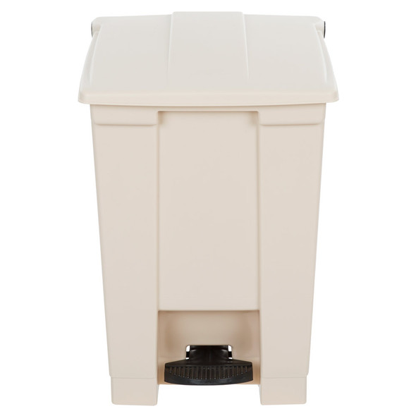Rubbermaid Legacy 12 Gal Step-On Container, Beige
