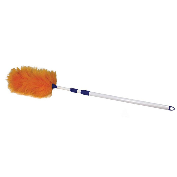 Extended Twist-and-Lock Lambswool Duster