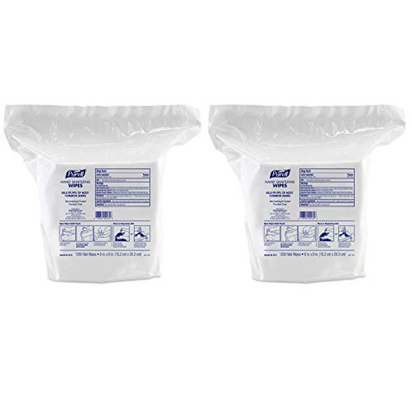 PURELL Hand Sanitizing Wipes, 1200 Count Refill