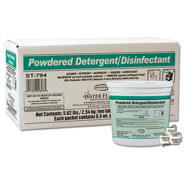 Stearns Water Flakes Powdered Detergent & Disinfectant