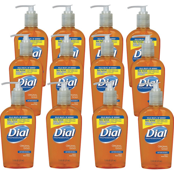 Dial Gold 7.5 oz Antimicrobial Hand Soap Pump