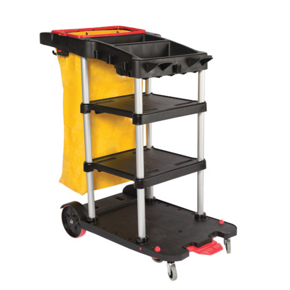 delamo Janitor Auto Cart 3S with Locking Bin