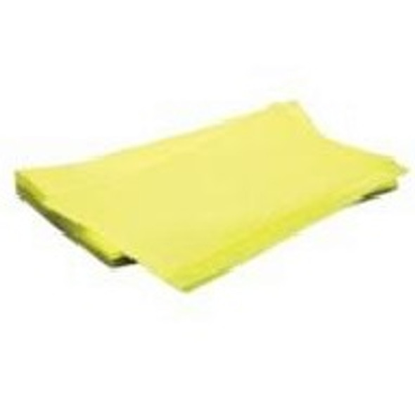 "MDI Pro-Series 23"" x 24"" Classic Yellow Treated Dust Cloth, Heavy Grade"
