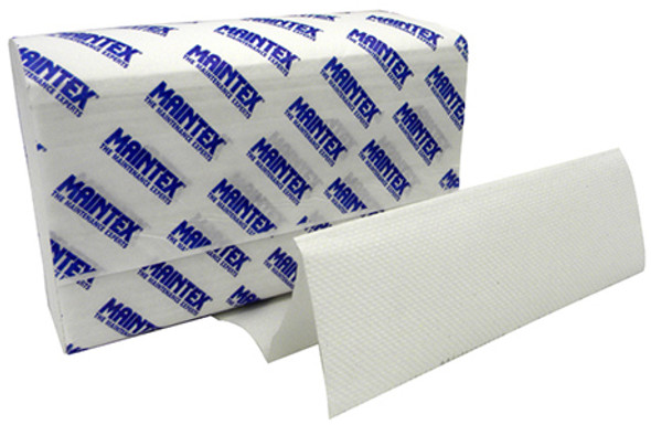 Maintex High Quality & Economical Multifold Towels, White 16/250
