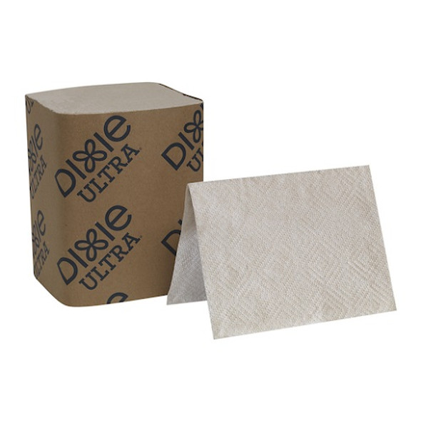 GP Pro Dixie Ultra Interfold 2-Ply Napkin Dispenser Refill, Brown