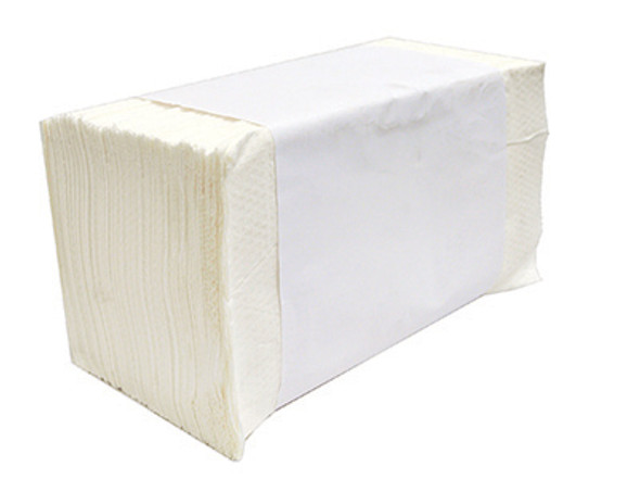 US Series, Singlefold Towels, White 16/250