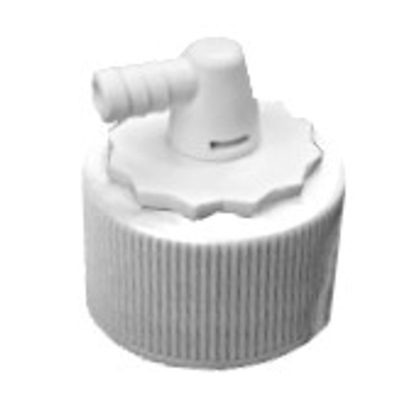 The cap adapter component is the key that unlocks the chemical from the container