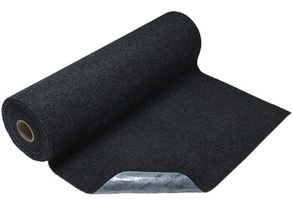 M + A Matting Sure Stride Plush Mat 3' x 30', Smoke